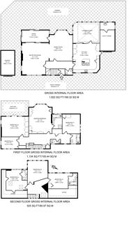 Large floorplan for Cedars Close, Hendon, NW4