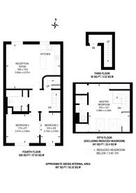 Large floorplan for Sussex Gardens, Hyde Park Estate, W2