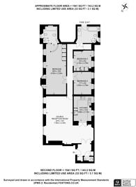 Large floorplan for Bolsover Street, Fitzrovia, W1W