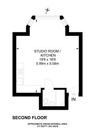 Large floorplan for Eton Avenue, Swiss Cottage, NW3