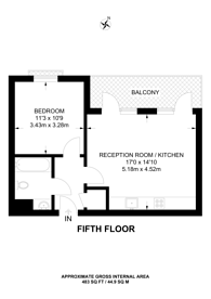 Large floorplan for Hammersley Road, Canning Town, E16
