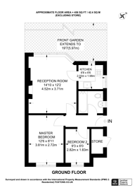 Large floorplan for Homesdale Road, Bromley, BR2