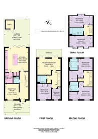 Large floorplan for Egerton Drive, Old Isleworth, TW7