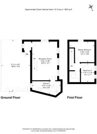 Large floorplan for Bradley Road, Wood Green, N22