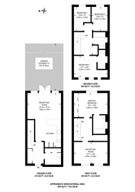 Large floorplan for Mary Rose Square, Deptford, SE16
