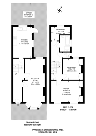 Large floorplan for Kenmure Road, Hackney, E8