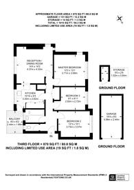 Large floorplan for Stanley Avenue, Motspur Park, KT3