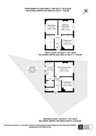 Large floorplan for Highbury Avenue, Thornton Heath, CR7