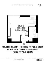 Large floorplan for Lower Sloane Street, Sloane Square, SW1W