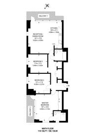 Large floorplan for Deptford Foundry, Deptford, SE14