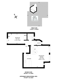 Large floorplan for Flask Walk, Hampstead, NW3