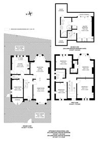 Large floorplan for Ossulton Way, Hampstead Garden Suburb, N2