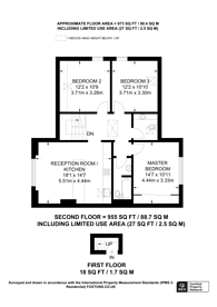 Large floorplan for Warminster Road, South Norwood, SE25