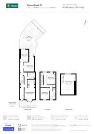 Large floorplan for Stracey Road, Forest Gate, E7