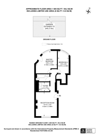 Large floorplan for St Johns Villas, Archway, N19