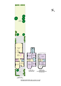 Large floorplan for Fordwych Road, West Hampstead, NW2
