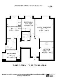 Large floorplan for Holden Avenue, Woodside Park, Woodside Park, N12