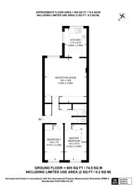 Large floorplan for Stanley Park Road, Wallington, SM6