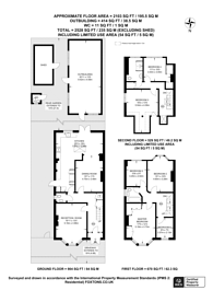Large floorplan for Bellingham Road, Catford, SE6