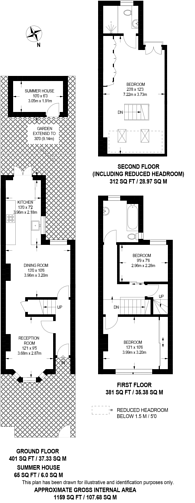 Large floorplan for Butler Road, West Harrow, HA1