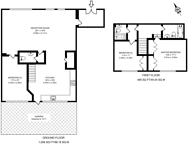 Large floorplan for Hale Street, Poplar, E14