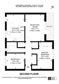 Large floorplan for Derwent Road, Raynes Park, SW20