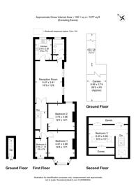 Large floorplan for Newton Road, Cricklewood, NW2