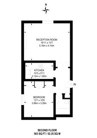Large floorplan for Bolton Gardens, South Kensington, SW5