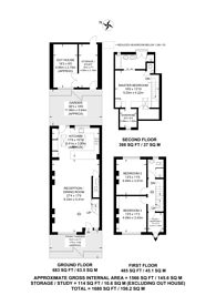 Large floorplan for Dordrecht Road, Chiswick, W3