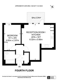 Large floorplan for Lyon Road, Harrow, HA1