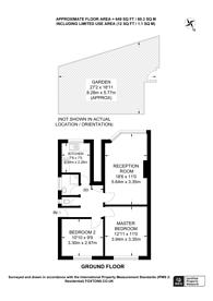 Large floorplan for Grange Road, Upper Norwood, SE19