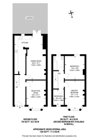 Large floorplan for Stirling Road, Wood Green, N22