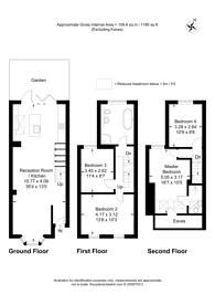 Large floorplan for Hartington Road, Walthamstow, E17