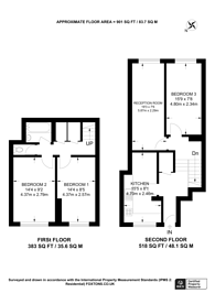 Large floorplan for Mallory Street, Lisson Grove, NW8