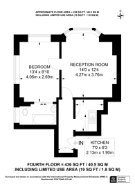 Large floorplan for Petty France, Westminster, SW1H