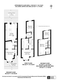 Large floorplan for Havant Road, Walthamstow, E17