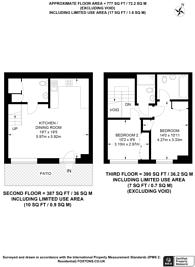 Large floorplan for Embassy Gardens, Nine Elms, SW11