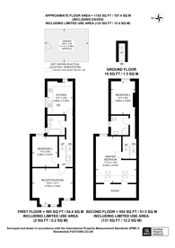 Large floorplan for Burlington Road, Thornton Heath, CR7