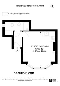 Large floorplan for Woodstock Road, Golders Green, NW11