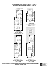 Large floorplan for Letchford Gardens, Kensal Green, NW10