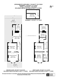 Large floorplan for Sprowston Road, Stratford, E7
