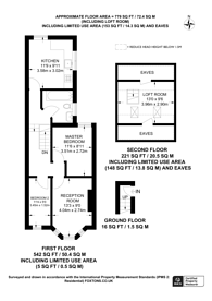 Large floorplan for Waghorn Road, Upton Park, E13