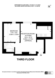 Large floorplan for Park Road, Regent's Park, NW1