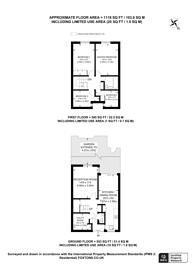 Large floorplan for Hanmer Walk, Holloway, N7
