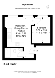 Large floorplan for Earls Coiurt, Earls Court, SW5