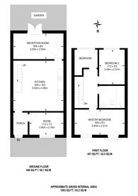Large floorplan for Fleetwood Court, Beckton, E6