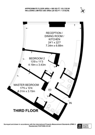 Large floorplan for 1 Albert Embankment, Albert Embankment, SE1