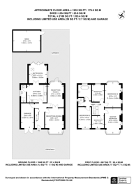 Large floorplan for New Street Hill, Bromley, BR1, Bromley, BR1