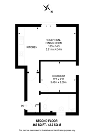 Large floorplan for Clock Tower Mews, Hanwell, W7