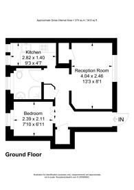 Large floorplan for Hastings Close, New Barnet, EN5